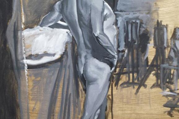 Male Nude Study, 2014