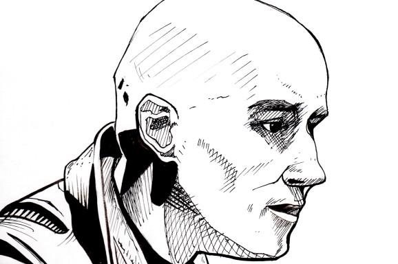 Grant Morrison Portrait, 2016